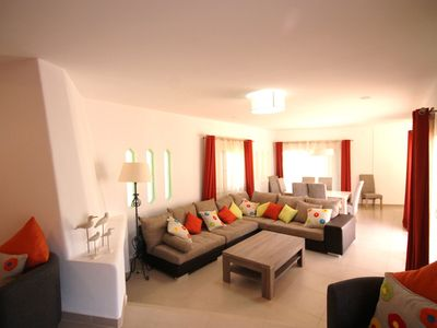 Photo for Luxury Villa,  Private Heated Swimming Pool,100 Metres From Santa Eulalia  Beach