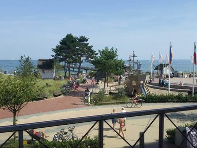 Photo for Private Baltic Sea View - 2-room app., Approx. 60m², 1. Floor, 2 balconies, sea view