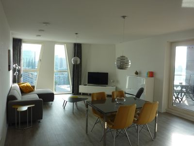 Photo for Apê Calypso, luxury holiday apartment center of Rotterdam with view and balcony