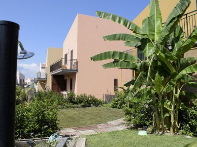 Photo for Lovely apartment for 6 guests with WIFI, pool, TV, balcony, pets allowed and parking