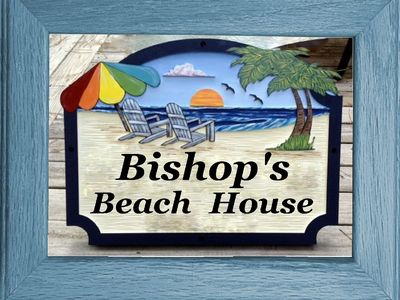 """Photo for """"Bishop's Beach House"""" ~  just a short golf cart ride to the beach!"""