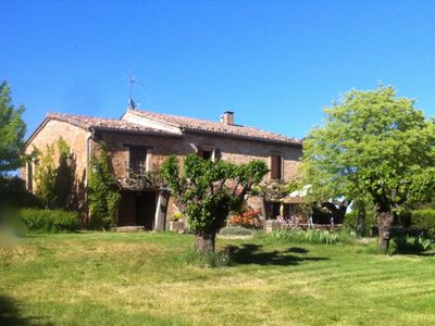 Photo for Uzes 5 km - Grand Mas Provencal 19th - Pool - 6 Bedrooms -12 people