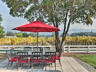 Photo for Beautiful Sonoma House w/ Patio & Vineyard Views!