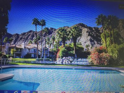 Photo for Cochella and Stagecoach availability Steps away from 3 pools, gated PGA West