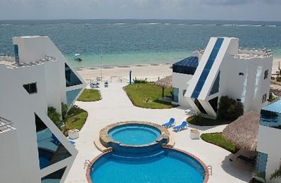 Photo for Oceanfront Luxury Townhome Condo Wifi 3 Plasma TV'S Pool & Spa
