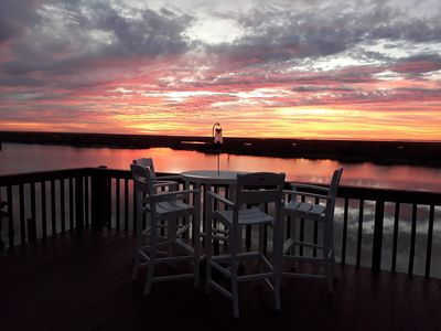 Photo for Reduced off season rates!!!/  Wake up on the water!!! Matagorda, Texas