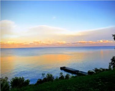 Photo for Lake Michigan home with gorgeous views, great spot for a family or golf retreat