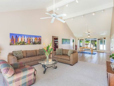 Photo for Lovely Princeville 3 Bedroom Vacation Home located on  Makai Golf Course