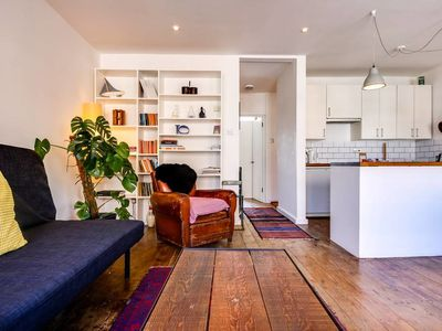 Photo for Chic 1bed w/terrace in Shoreditch 5min to station
