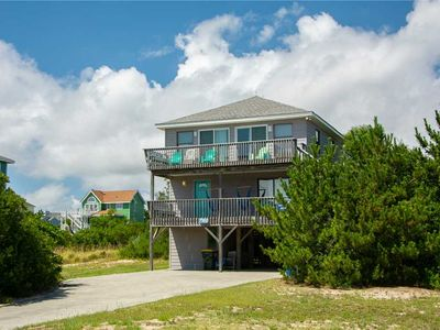 Photo for Jive 'n' Whale: Oceanside, 4 bedrooms, short walk to the beach, Whalehead community.