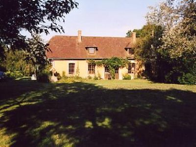Photo for The Fidelaire: Character house with large landscaped garden with trees, very quiet, friendly and warm, exposed beams, no vis-à-vis.