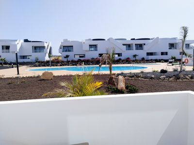 Photo for Fuerteventura: Beautiful low overlooking a beautiful pool