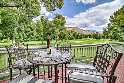 Escape to this Southern Colorado abode located on the Dalton Ranch Golf Club.