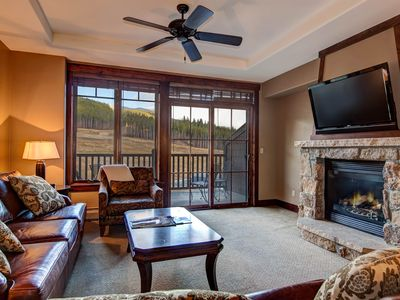 Photo for Ski-in/ski-out luxury w/ shared hot tubs, pools, & unobstructed mountain views!