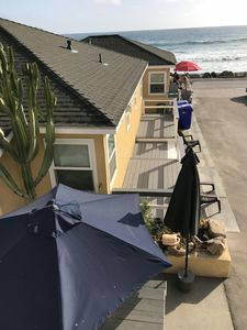 Spectacular Oceanfront Vacation Rentals On The Strand Beach.  Unit #4