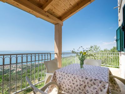 Photo for Apartment with breathtaking view away from the city crowd