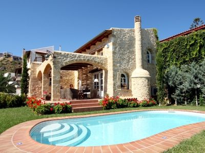 Photo for Rock House's Villa Melody, Secluded Villa with private swimming pool and garden