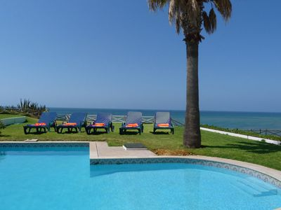 Photo for Waterfront Villa within a walking distance from the beach!