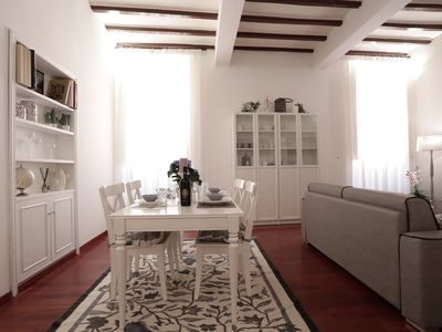 Photo for At-Rhome Bright Apartment via belsiana, Spanish Steps in heart of the Rome