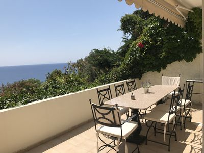 Photo for MALENA MAISONETTE-Minimal Design-Majestic Sea View-Just 45 min. from the Airport