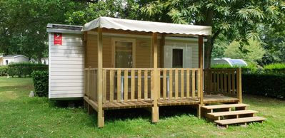 Photo for Camping de Maillac **** - Mobile home 3 rooms 5 people without bathrooms