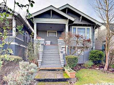 Photo for Historic 2BR in Seattle's Madrona Neighborhood - 2 Blocks to Bus Stop