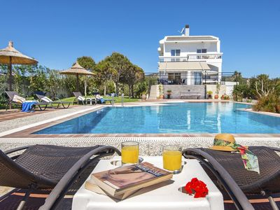 Photo for This 4-bedroom villa for up to 10 guests is located in Lachania / Lahania and has a private swimming