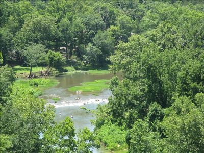 Close to river for fishing, canoes, kayaks,  tubing, swimming, antiques in town