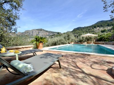 Photo for VILLA PORT SOLLER. Private pool among the nature in Sierra de Tramuntana.