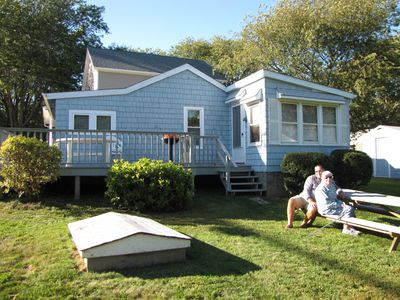 Photo for Early Autumn Discount! Quaint Snug Harbor, Wakefield, RI cottage