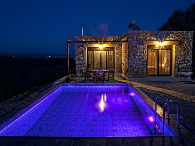 Photo for OLIVE luxury villa Taf. Private pool, smart home,sea view,3D TV, gym