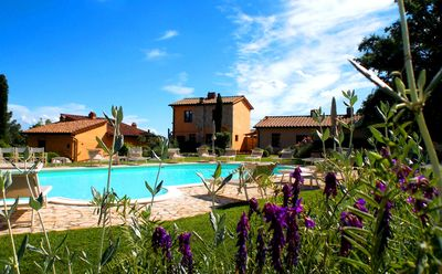 Photo for Holiday home with garden overlooking the pool