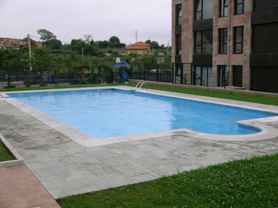 Photo for Apartment with pool in Celorio, Llanes