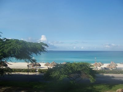 Photo for Oceania Luxurious oceanfront Two Bedroom Condo on Eagle Beach