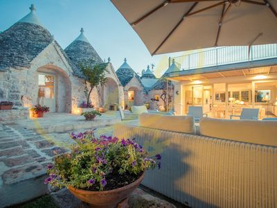 Photo for TRULLI DI BOUGANVILLE - Villa for 8 people in Monopoli