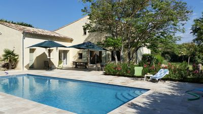 Photo for Provence - Luberon - Old farmhouse completely renovated. Swimming Pool