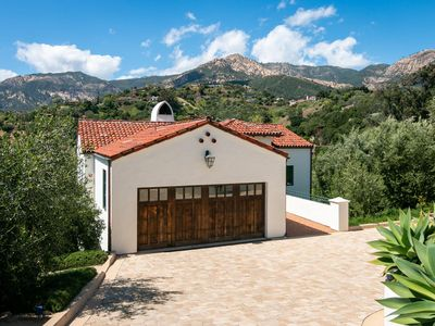 Photo for Welcome to the quintessential Santa Barbara home with ocean and mountain views!