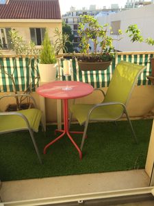 Photo for 2 room apartment 50 m2 full sun with terrace.  Beaches at 10 mn