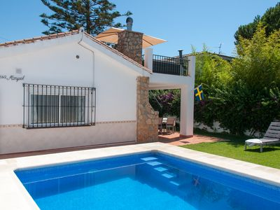 Photo for Villa in Fuengirola, 800 m from the beach!