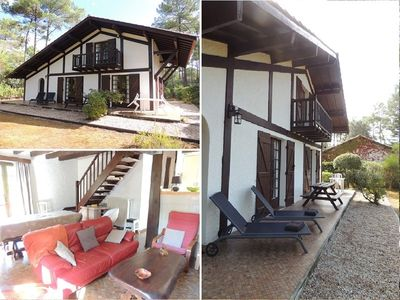 Photo for Large House, 3 bedrooms, 7 people, Longarisse, lake of Lacanau