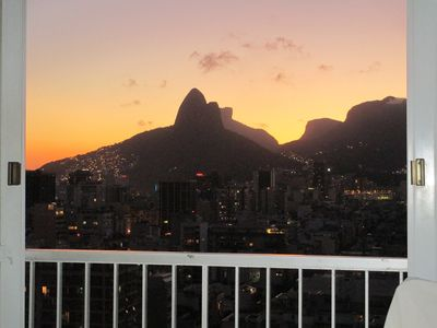 Photo for Loft in Ipanema with panoramic sea, mountain and lagoon