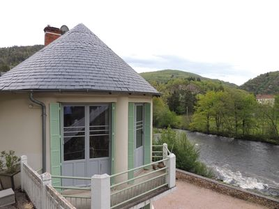 Photo for Comfortable house 4 per in old mill on the river with wifi