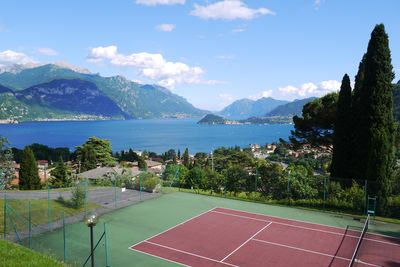 Tennis with a view