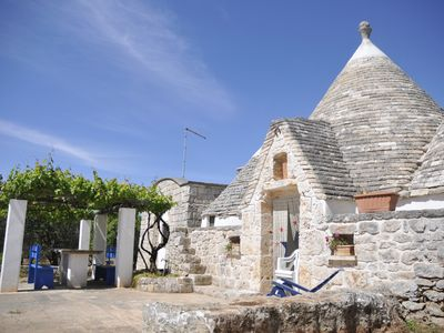 Photo for WONDERFUL TRULLO LA PERGOLA