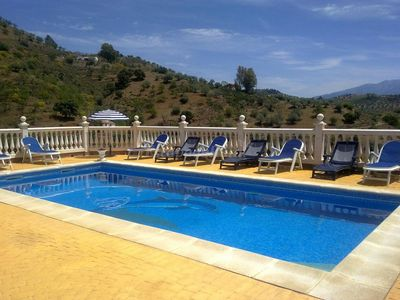 """Photo for Rustic Country House """"Casa la escuela del río"""" with Mountain View, Wi-Fi, Pool & Terraces; Parking Available"""