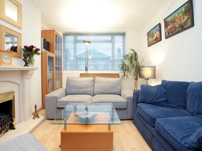 Photo for Two Bedroom Apartment by Regent's Park and Primrose Hill, Sleeps 3 (Veeve)