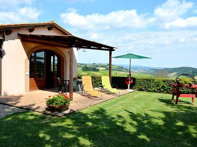 Photo for Vacation home L´Azalea  in San Gimignano, Tuscany Chianti - 4 persons, 2 bedrooms