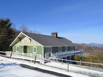 Photo for Alpine Lodge -Between Boone & Blowing Rock! Great view, 2 Kitchens, fire pit