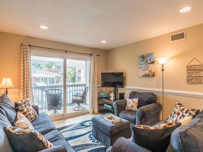 Photo for Cozy Gulf Front Condo, Directly on the Beach! ~ Near Area Attractions with Pool!