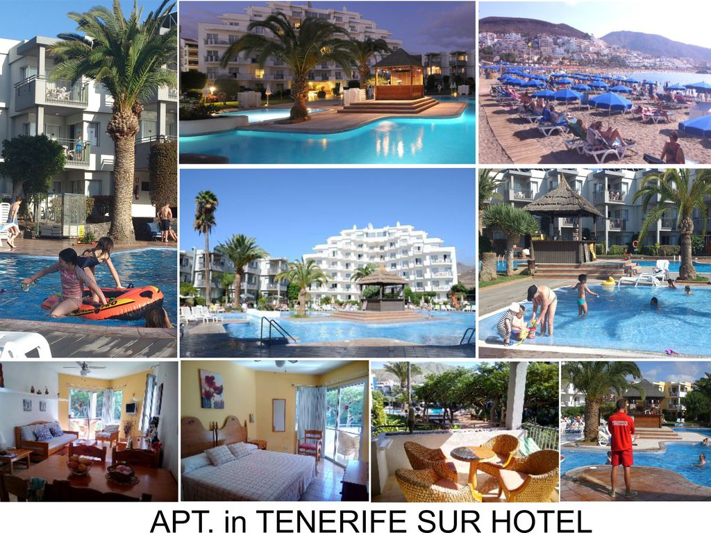 c490 tenerife sur hotel apartment in a hotel with heated pools